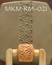TEXTUR ROLLSTEMPEL  RM-021  L 3CM, <br><i>Preis pro Stück</i>